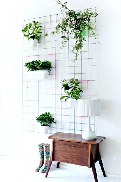 Amazing Artificial Wall Planters Image