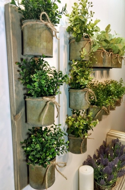Amazing Rustic Wall Planter Picture