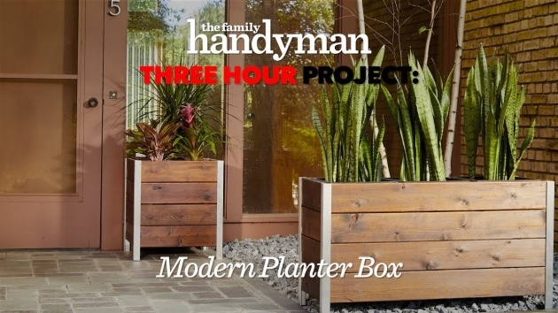 Amazingly Contemporary Planter Box Image