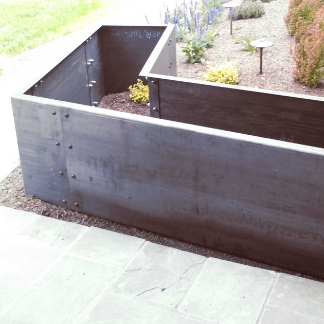Amazingly Iron Planter Boxes Picture