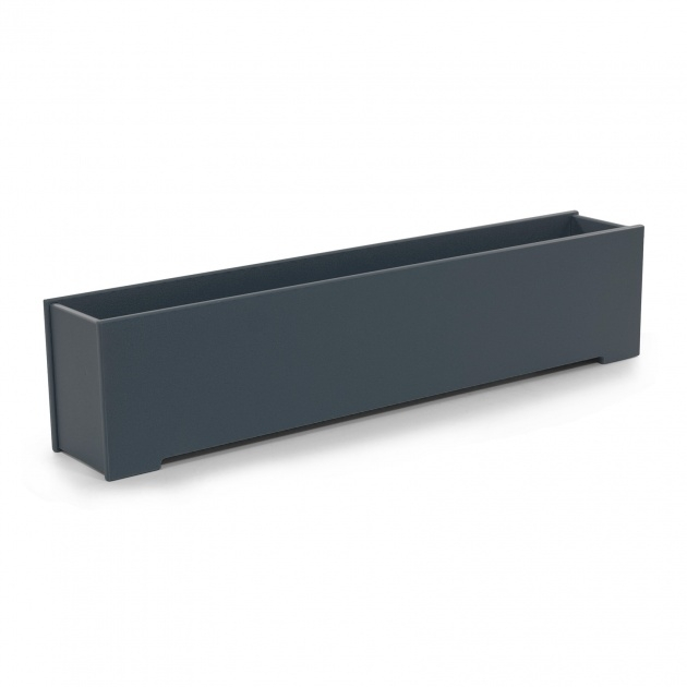 Amazingly Metal Rectangular Planter Image