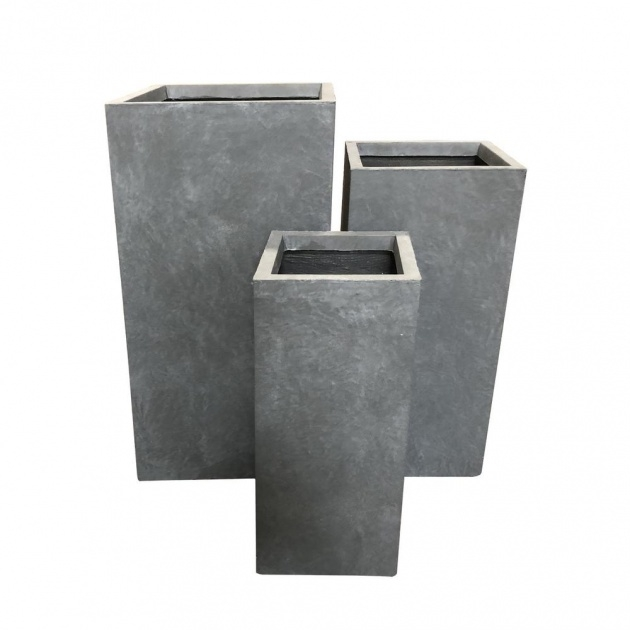 Amazingly Modern Concrete Planter Picture