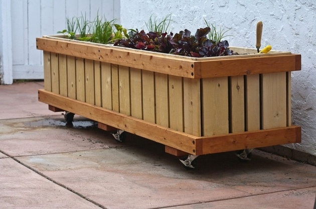 Amazingly Movable Planter Boxes Picture
