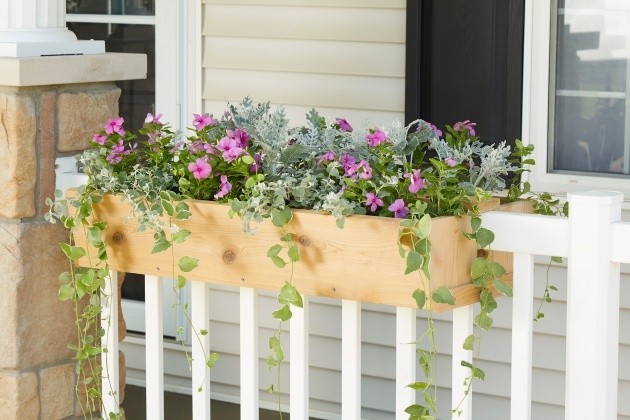 Awesome Balcony Railing Planter Picture