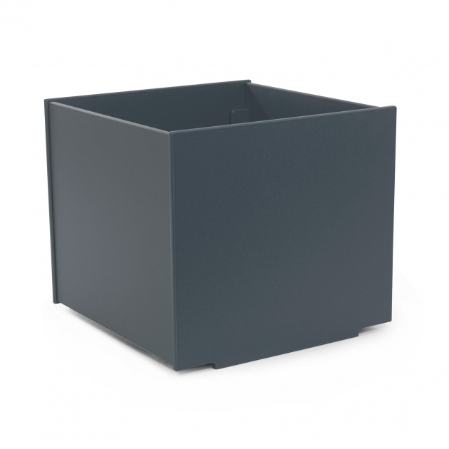 Awesome Black Square Planter Photo