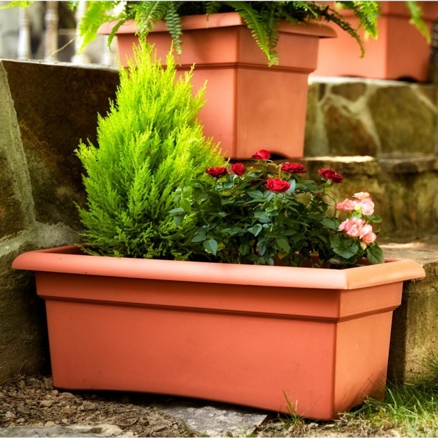 Awesome Deck Planter Boxes Picture