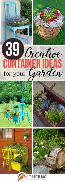 Awesome Diy Garden Planter Ideas Photo