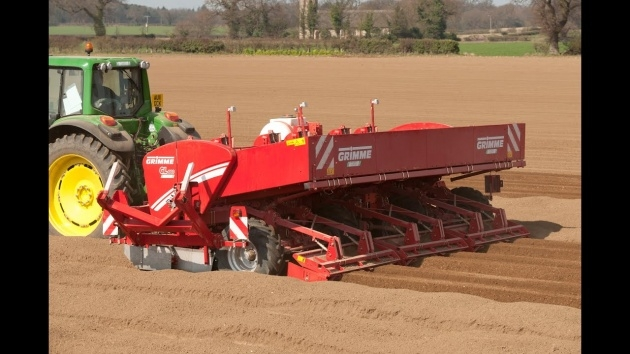 Awesome Grimme Potato Planter Image