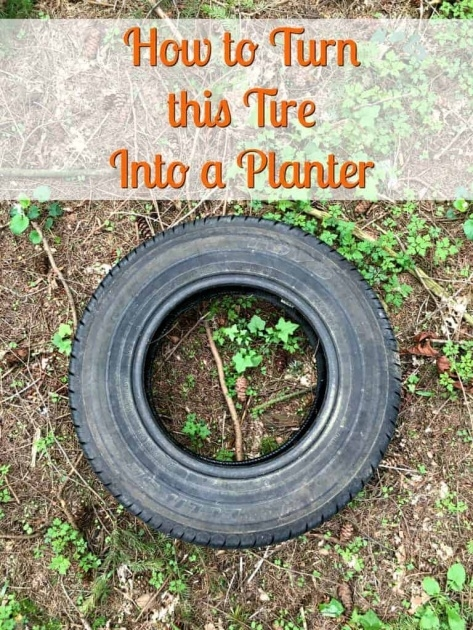 Awesome How To Make Tire Planters Photo