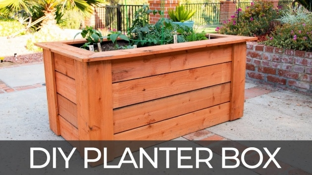 Awesome Planter Box Plans Free Photo