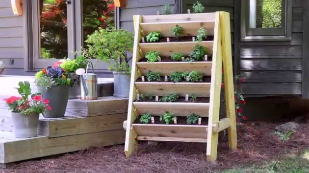Awesome Vertical Garden Planter Boxes Picture