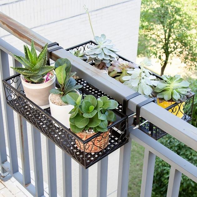 Best Balcony Railing Planter Image