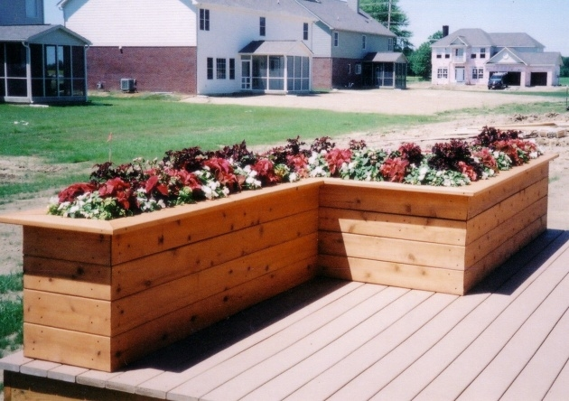 Best Cool Deck Planter Boxes Photo