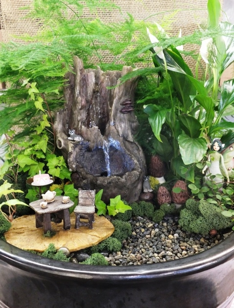 Best Cool Indoor Miniature Gardens Picture
