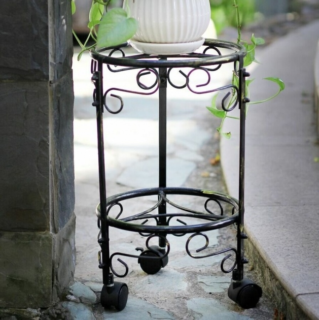 Best Cool Plant Stand With Wheels Photo