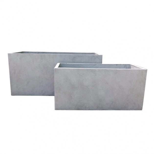 Best Cool Rectangular Cement Planters Image