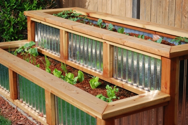 Best Corrugated Metal Planters Picture