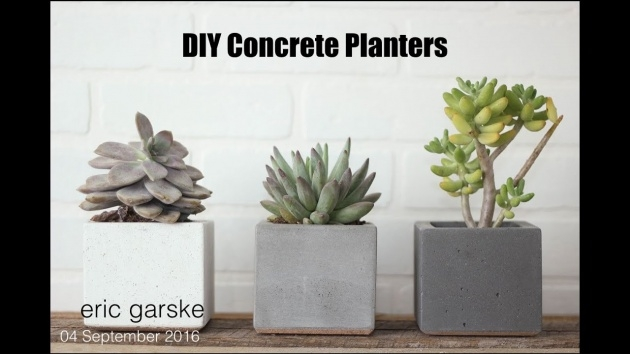 Best Diy Concrete Planter Molds Picture