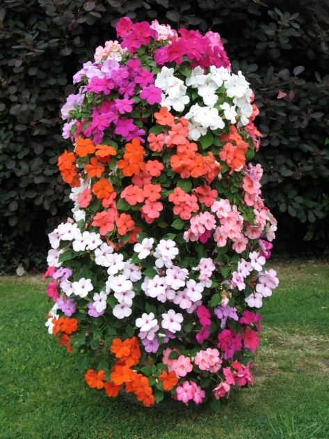 Best Flower Tower Planter Photo