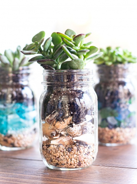 Best Mason Jar Planter Photo