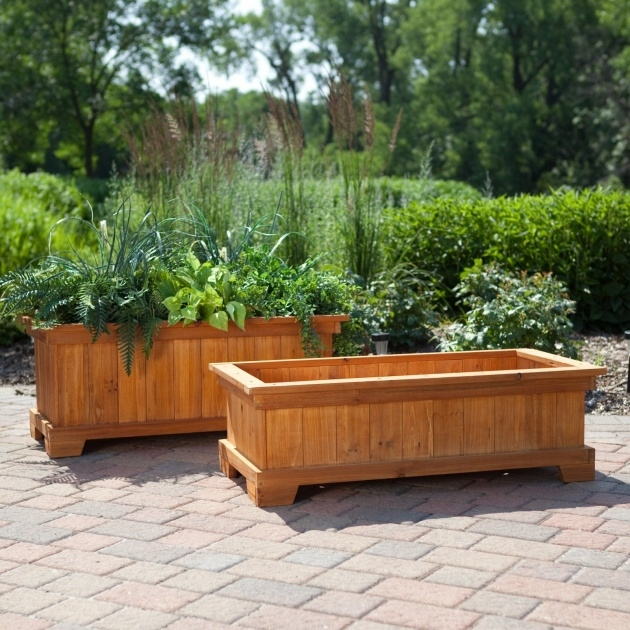 Best Outdoor Planter Boxes Picture