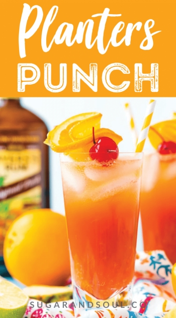 Best Planters Punch Cocktail Image