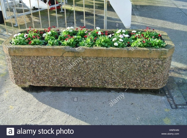 Best Stone Planter Box Designs Picture
