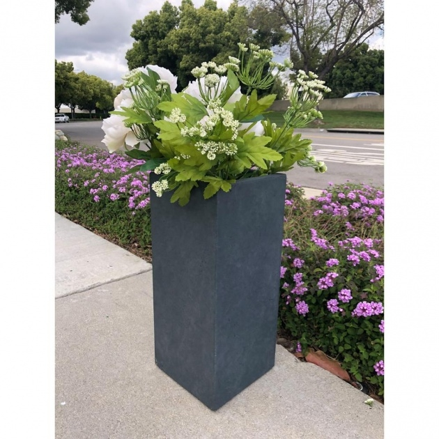 Best Tall Concrete Planters Picture