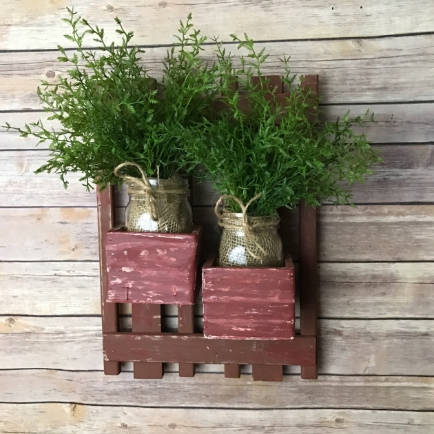 Best Vintage Wall Planter Photo