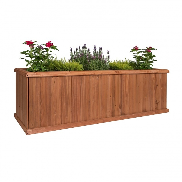 Cool Planter Box Size Picture