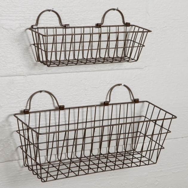 Cool Wire Planter Basket Picture