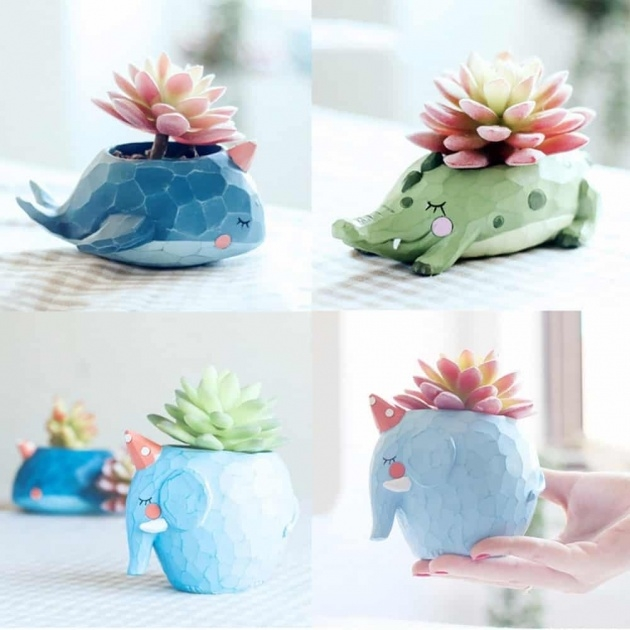 Creative Animal Plant Pots Picture