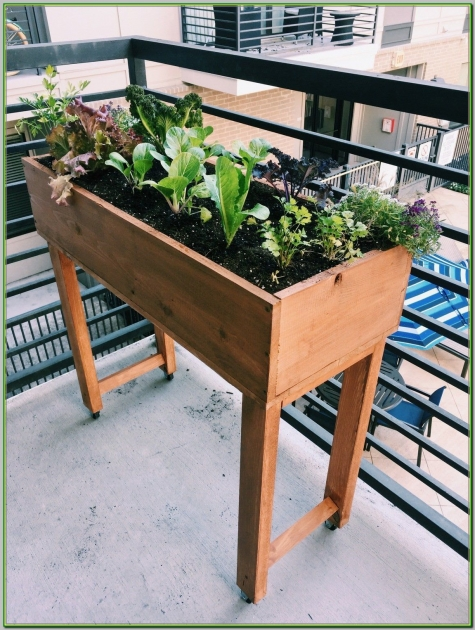 Creative Balcony Planter Box Image