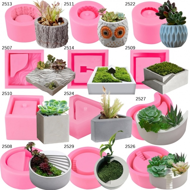 Creative Cement Planter Molds Image
