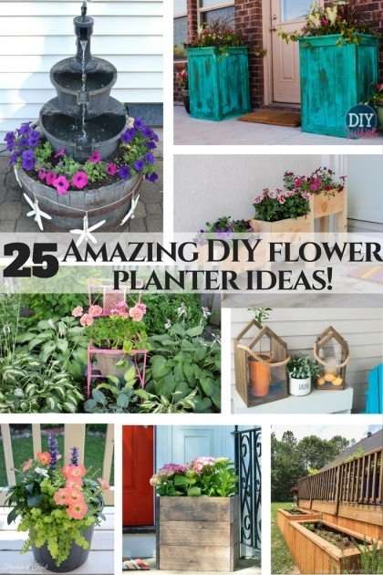 Creative Diy Garden Planter Ideas Image