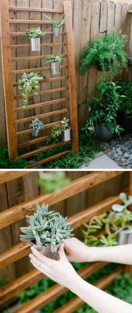 Creative Fence Hanging Planters Image