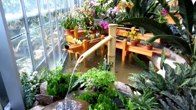 Creative Indoor Water Garden Design Picture