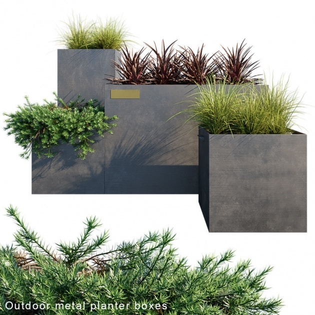 Creative Iron Planter Boxes Picture