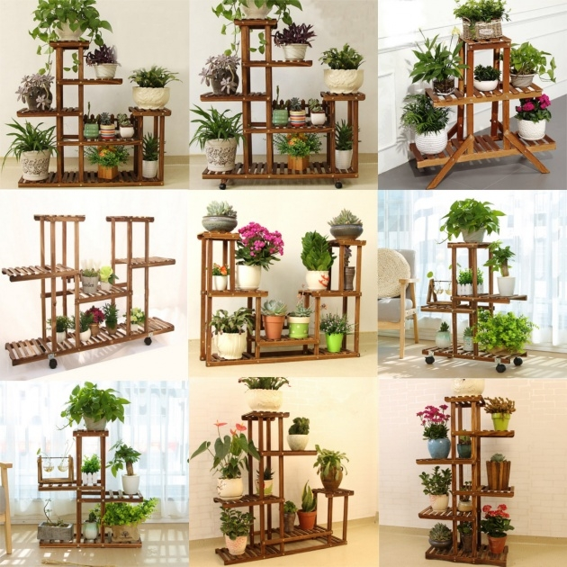 Creative Plant Stand Indoor Image