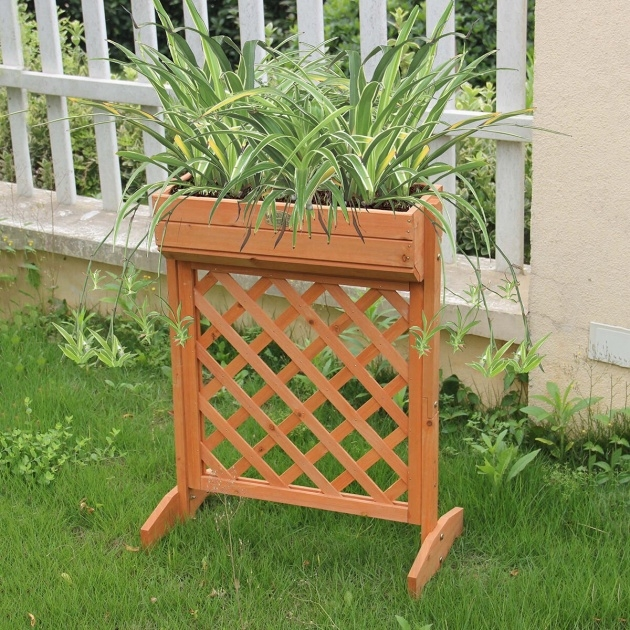 Creative Planter Box Stands Outdoor Image
