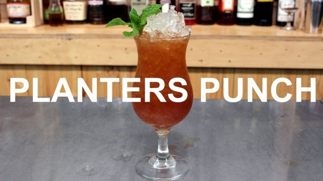 Creative Planter's Punch Ingredients Image