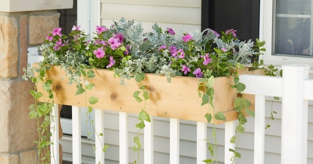 Creative Railing Planter Box Photo