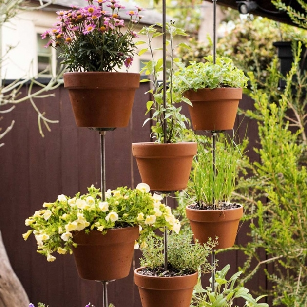 Creative Tower Plant Pots Photo