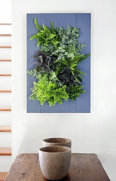 Creative Vertical Wall Planter Indoor Photo