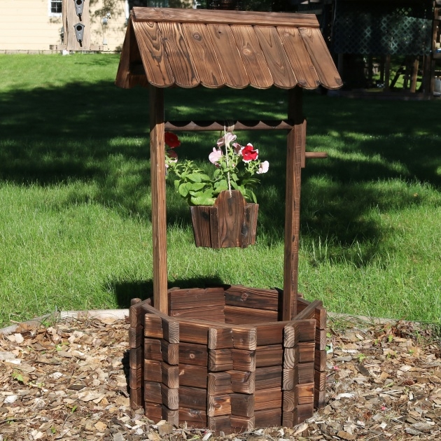 Creative Wooden Garden Planters Photo