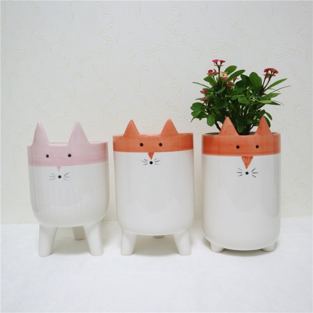 Easy Animal Plant Pots Picture