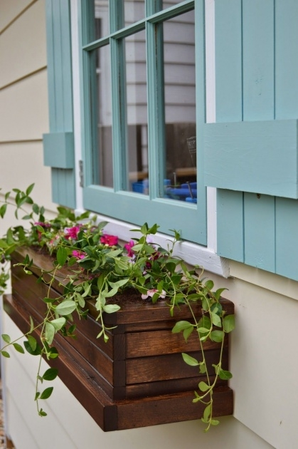 Easy Build Window Planter Box Picture