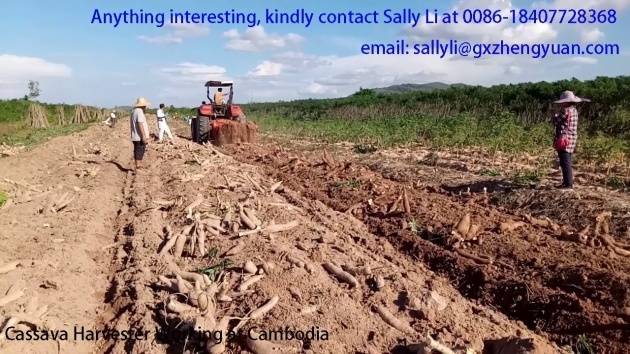Easy Cassava Planting Machine Photo