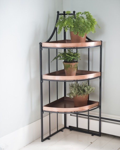 Easy Corner Plant Stand Picture