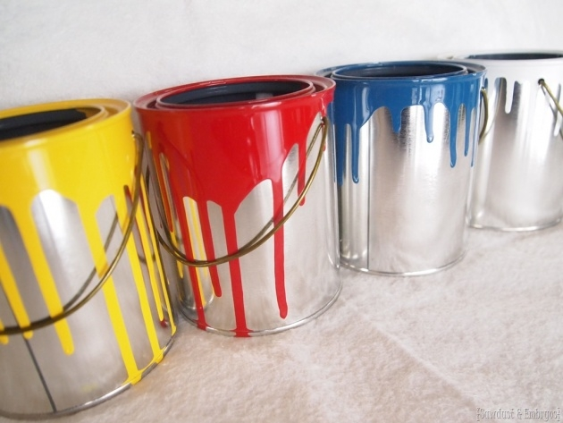 Easy Paint Can Planter Image